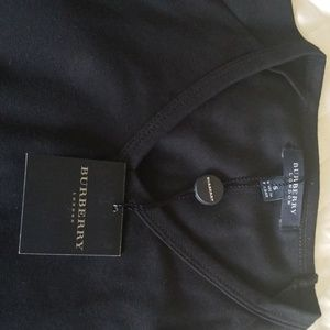 Size Small New Burberry black T Shirt.
